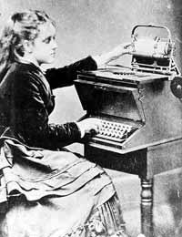 Дочь Шоулза, благодаря своему мастерству, считалась очень прогрессивной девушкой